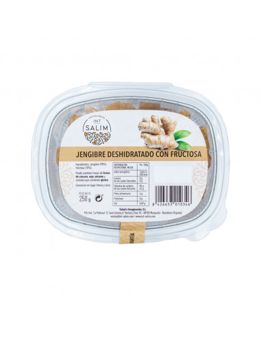 JENGIBRECON FRUCTOSA 250 GR.